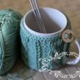 Kubek w sweterku – toturial