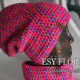 czapka różowa neonowa